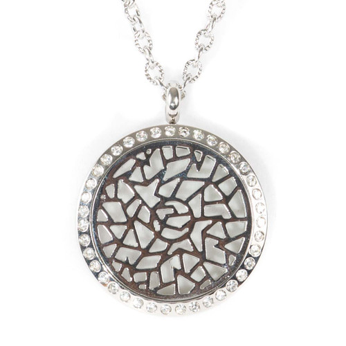 Rosabella Locket Diffusing Necklace For Essential Oils
