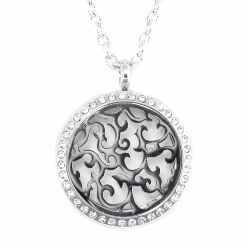 Florencia Locket Diffusing Necklace For Essential Oils