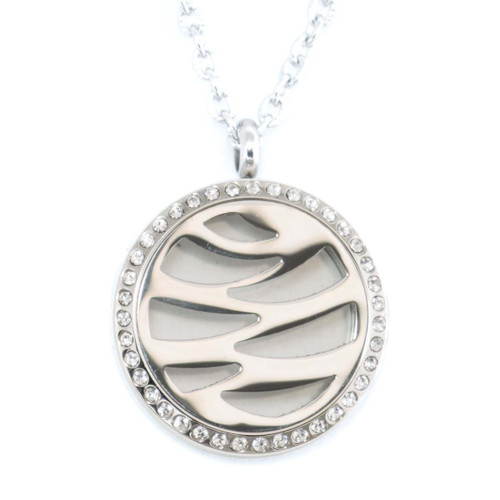 Ada Locket Diffusing Necklace For Essential Oils