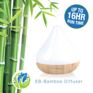 16 Hour Ultrasonic Essential Oil Diffuser | Long Lasting EO Humidifier