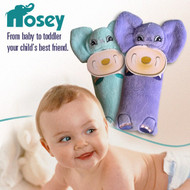 Nosey Plush Toy Aromatherapy Diffuser with Pacifier Holder for Babies and Toddlers