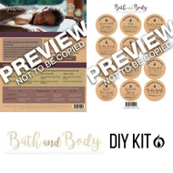 Bath & Body using Essential Oils Do It Yourself Kit