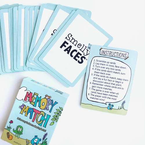 Memory Match Card Game - A Fun Way To Learn About Plants!