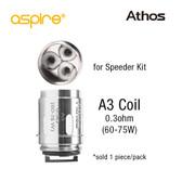 Aspire Athos Coil A3 Coil [1-pk] | Aspire (for Speeder Kit)