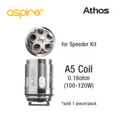 Aspire Athos Coil A5 Coil [1-pk] | Aspire | 0.16ohm (for Speeder Kit)