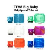 Replacement Tube & Driptip Set - For Smok TFV8 Big Baby