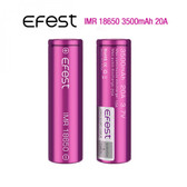 18650 3500mAh 20A  New Battery (Tear Resistant Wrap) | Efest