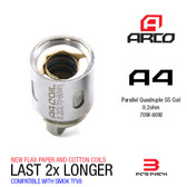 Horizon Arco A4 Coils  [3-pk] | Horizon Tech | 0.2ohm ( works with SMOK TFV8 )