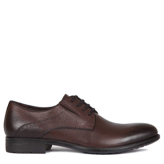 Grained Leather Derby Shoes MP 7294217 BRA