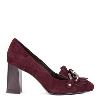Suede Block Heel Loafers  GF 5277517 BDZ