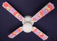 New Disney Little Mermaid ARIEL Ceiling Fan 42""