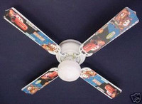 New CARS LIGHTNING McQUEEN MATER Ceiling Fan 42""