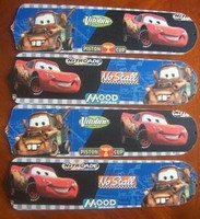 """New CARS LIGHTNING MATER 42"""" Ceiling Fan BLADES ONLY"""