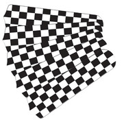 """New NASCAR CHECKERED FLAG 52"""" Ceiling Fan BLADES ONLY"""