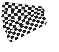 """New NASCAR CHECKERED FLAG 42"""" Ceiling Fan BLADES ONLY"""