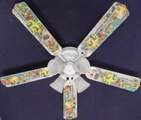 "New CONSTRUCTION DUMP LOADER TRUCKS Ceiling Fan 52"""