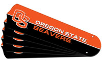 "New NCAA OREGON STATE BEAVERS 42"" Ceiling Fan Blade Set"