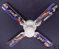 """NASCAR Race Cars 42"""" Ceiling Fan"""