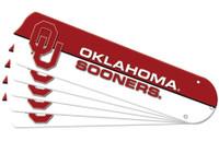 "New NCAA OKLAHOMA SOONERS 42"" Ceiling Fan Blade Set"