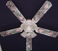 """New LARGE MOUTH BASS FISH Ceiling Fan 52"""""""