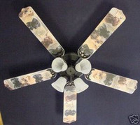 """New LABRADOR RETRIEVER LAB DOGS DOG Ceiling Fan 52"""""""