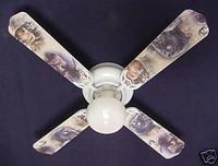 """New BUCK MOOSE BEAR WILDERNESS Ceiling Fan 42"""""""
