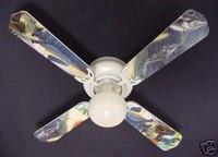 "New ANGLER FISH FISHING SWORDFISH SHARK Ceiling Fan 42"""