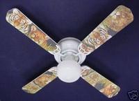 "New AFRICAN LION TIGER LEOPARD Ceiling Fan 42"""