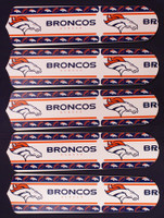 "New NFL DENVER BRONCOS 52"" Ceiling Fan BLADES ONLY"