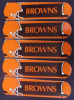 """New NFL CLEVELAND BROWNS 52"""" Ceiling Fan BLADES ONLY"""