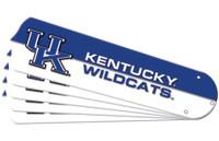"""New NCAA KENTUCKY WILDCATS 42"""" Ceiling Fan Blade Set"""