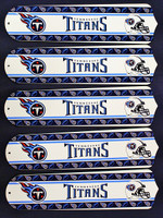 "New NFL TENNESSEE TITANS 52"" Ceiling Fan BLADES ONLY"