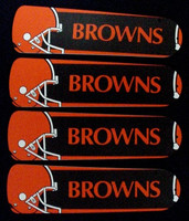 """New NFL CLEVELAND BROWNS 42"""" Ceiling Fan BLADES ONLY"""