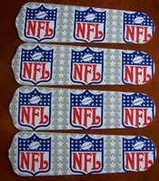 "New NFL NATIONAL LEAGUE 42"" Ceiling Fan BLADES ONLY"