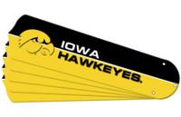 "New NCAA IOWA HAWKEYES 42"" Ceiling Fan Blade Set"