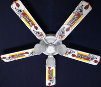 "New NFL ARIZONA CARDINALS FOOTBALL Ceiling Fan 52"""