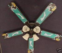 "New NFL JACKSONVILLE JAGUARS FOOTBALL Ceiling Fan 52"""