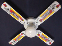 "New NFL ARIZONA CARDINALS FOOTBALL Ceiling Fan 42"""
