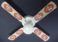 "New NFL SAN FRANCISCO 49ERS FOOTBALL Ceiling Fan 42"""