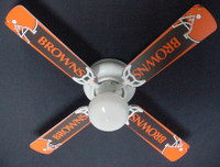 New NFL CLEVELAND BROWNS Ceiling Fan 42""