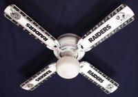 "New NFL OAKLAND RAIDERS FOOTBALL Ceiling Fan 42"""