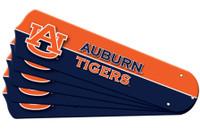"""New NCAA AUBURN TIGERS  42"""" Ceiling Fan Blade Set"""