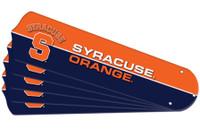 "New NCAA SYRACUSE ORANGE 52"" Ceiling Fan Blade Set"