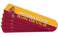 "New NCAA ARIZONA STATE SUN DEVILS 52"" Ceiling Fan Blade Set"