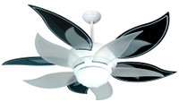 """New CRAFTMADE BLOOM 52"""" Ceiling Fan with BLACK BLADES"""