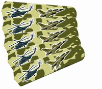 "New FREEDOM CAMO MILITARY 52"" Ceiling Fan BLADES ONLY"