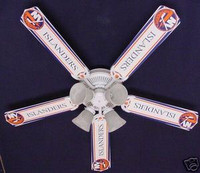 New NHL NEW YORK ISLANDERS HOCKEY Ceiling Fan 52""