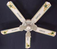 """New NHL DALLAS STARS HOCKEY Ceiling Fan 52"""""""