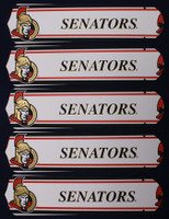 "New NHL OTTAWA SENATORS 52"" Ceiling Fan BLADES ONLY"