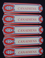 """New NHL MONTREAL CANADIENS 52"""" Ceiling Fan BLADES ONLY"""